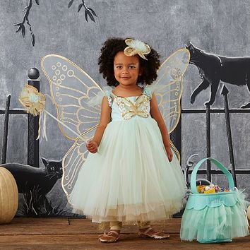 Toddler Butterfly Fairy Costume - Mint