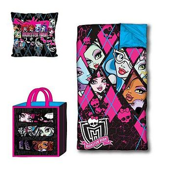 Monster High Slumber Tote Set - Fitness & Sports - Outdoor Activities - Camping & Hiking - Sleeping Bags
