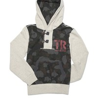 Hoodie Pullover - Oatmeal Heather