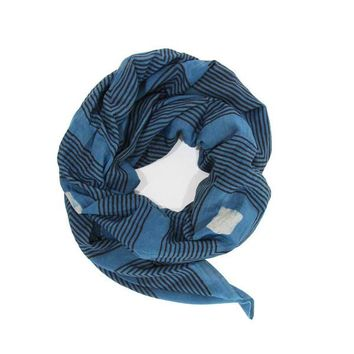 Block Shop Deep Indigo Taos Scarf