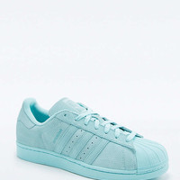 adidas Originals Superstar RT Monotone Aqua Suede Trainers - Urban Outfitters