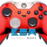Red Chrome Xbox One Elite Controller