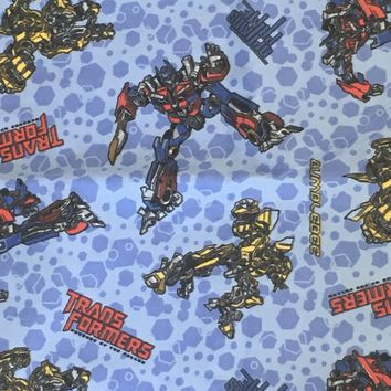 Hasbro Transformers - 2013 OOP Springs Creative -Cotton Flannel Fabric