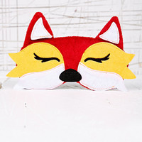 Fox Eye Mask - Urban Outfitters