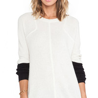 SHAE Sochi Cashmere Sweatshirt in Cream