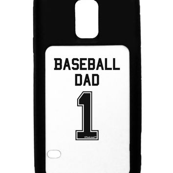 Baseball Dad Jersey Galaxy S5 Case  by TooLoud