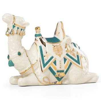 First Blessing Nativity Teal Camel Figurine by Lenox