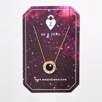 Me & Zena | Me & Zena Sagittarius Zodiac Wheel Necklace at ASOS