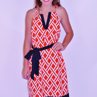 Game Day Racerback Dress ~ Red