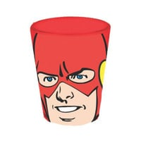 The Flash Face Image Shot Glass