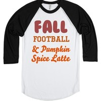 fall football pumpkin spice latte | | SKREENED