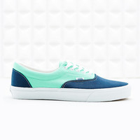 Vans Era Canvas Trainers in Mint and Blue - Urban Outfitters