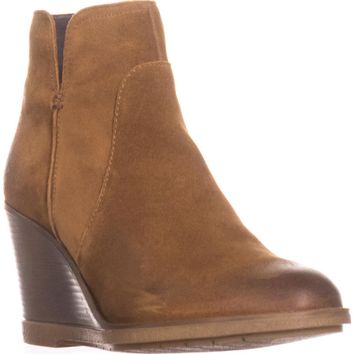 Kenneth Cole REACTION Dot-ation Wedge Ankle Boots, Pretzel, 9 US / 40 EU