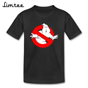 New Style T Shirts Children's 4T-8T Ghostbusters Infant Tee For Boy Girl Short Sleeve Crew Neck T Shirt
