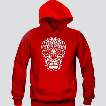 Sugar Skull Hoodie Funny and Music