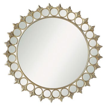 Mirrors, Vance Wall Mirror, Gold, Wall Mirrors