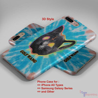 Ofwgkta Odd Future Tron Cat Tie - Personalized iPhone 7 Case, iPhone 6/6S Plus, 5 5S SE, 7S Plus, Samsung Galaxy S5 S6 S7 S8 Case, and Other