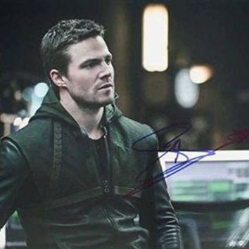 ICIKJNG Stephen Amell Signed Autographed 'Teenage Mutant Ninja Turtles TMNT' Glossy 11x14 Photo (SA COA)