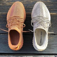 Adidas Yeezy Boost 350v2 men's and women's running shoes