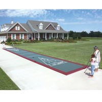 The Regulation Size Stowable Shuffle Board Court - Hammacher Schlemmer