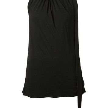 DCCKIN3 Rick Owens Lilies pleated neck top
