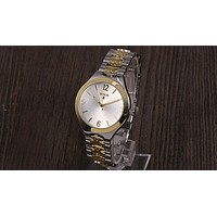TOUS 2018 new trendy couple stylish stylish quartz watch F-YY-ZT Silver&gold