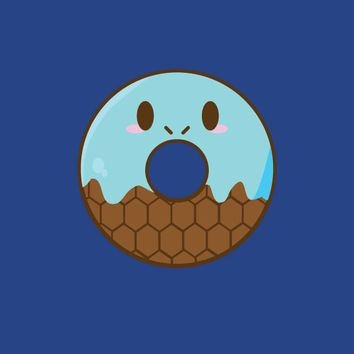 Water Turtle Donut T-shirt (Unisex)