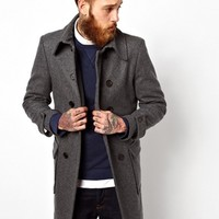 Gloverall Double Breasted Car Coat