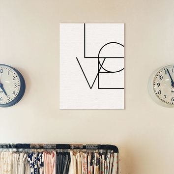 Love Quote Canvas Art Print Painting Calligraphy Numbers Poster, Wall Pictures For Home Decoration, Wall Decor