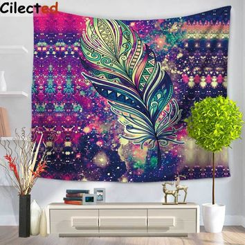 150x130cm Purple Painted Flower Printed Mandala Tapestry Wall Hanging Art Tapestry Home Decoration Wall Cloth Beach Towel