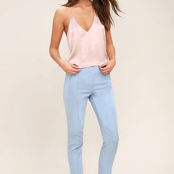 Peak of Success Light Blue Trouser Pants