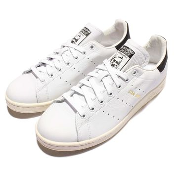adidas Originals Stan Smith White Black Mens Classic Trainers Sneakers S75076