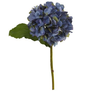 "12"" Hydrangea Artificial Flower (Set of 12)"