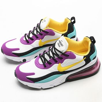 Trendsetter  Nike Air Max 270 React Women Men Fashion Casual Sneakers Sport Shoes