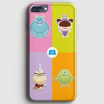 Monster Inc Cute Baby iPhone 8 Plus Case | casescraft