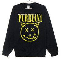 Purrvana Cat Sweatshirt...Follow me for more:)