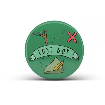 """Lost Boy"" Pin"