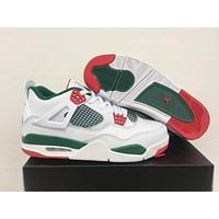 "Air Jordan 4 Retro ""White/Green"""