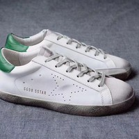 GGDB / Golden Goose Deluxe Brand Uomo / Donna Superstar Green Sneakers
