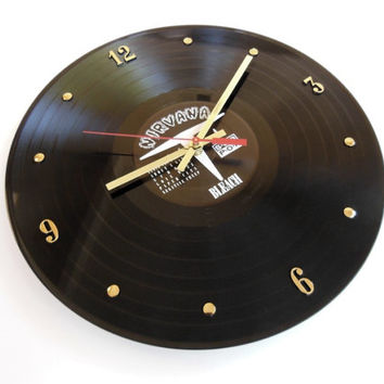 NIRVANA Record Clock (Bleach)