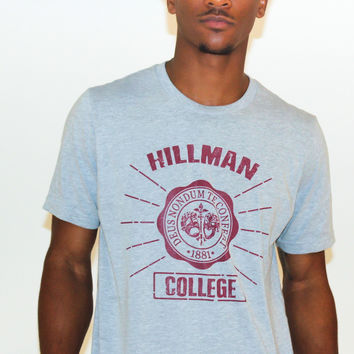 Hillman College Academic Unisex Short Sleeve T-Shirt