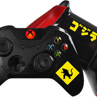 Godzilla inspired Custom Xbox One Controller