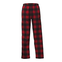 Men's Glacier Pants in Cardinal Red Grizzly Print by The North Face