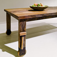 LOSANGELIST ? ENVIRONMENT FURNITURE / WHEEL DINING TABLE Many...