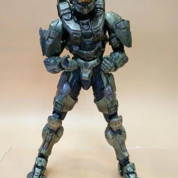 Anime Figure 25 CM HALO Guardians Master Chief PVC Action Figure Collectible Model Toy Brinquedos