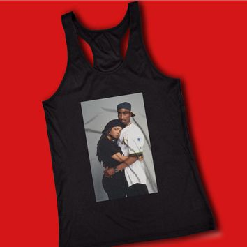 Tupac 2Pac And Janet Jackson Women'S Tank Top