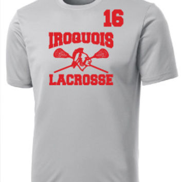 Iroquois HS Mens Lacrosse Sport-Tek® PosiCharge® Competitor™ Tee