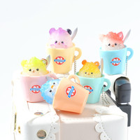 Animal Shaved Ice Keychains