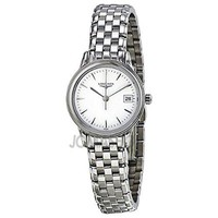 Longines Flagship White Dial Stainless Steel Ladies Watch L42164126