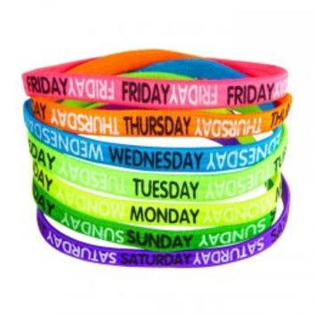 Days Of The Week Head Wraps | Headbands & Wraps | Hair Accessories | Shop Justice